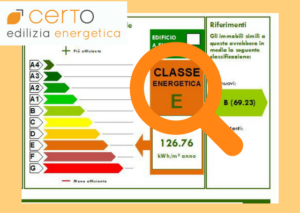 nuova classe energetica APE