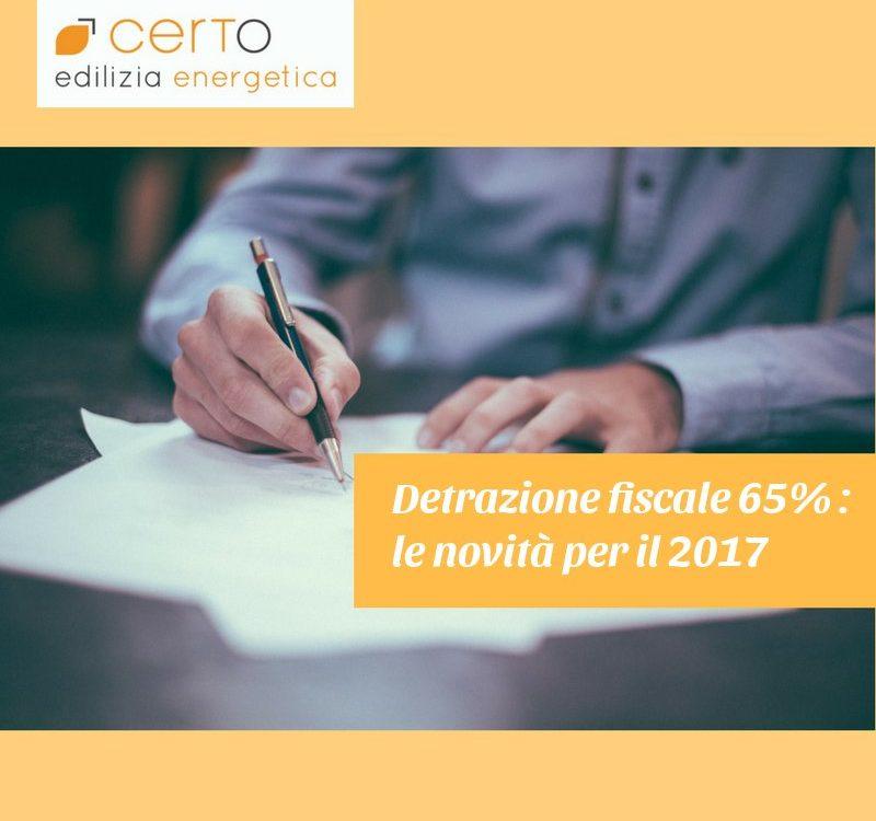 detrazione fiscale 65%