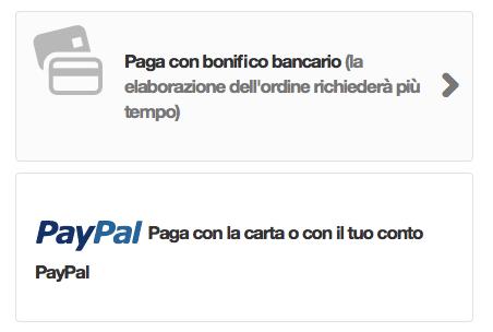 PayPal carte di credito