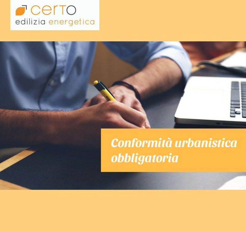 conformità urbanistica