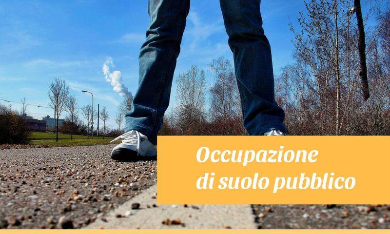 occupazione di suolo pubblico