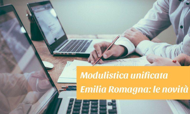 modulistica unificata emilia romagna