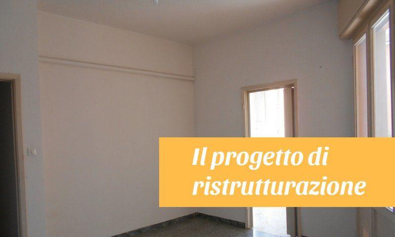 Progetto di ristrutturazione di un appartamento certo for Progetto di ristrutturazione