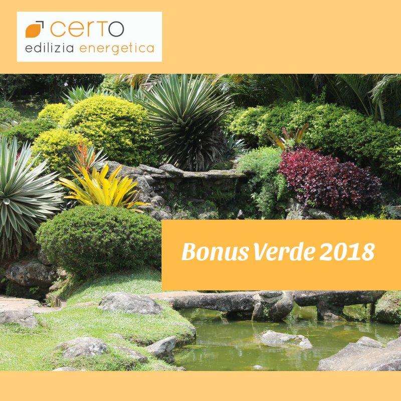 Bonus Verde · Detrazioni Fiscali · Sistemazione Giardini
