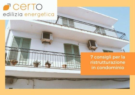 7 consigli per ristrutturazione condominio