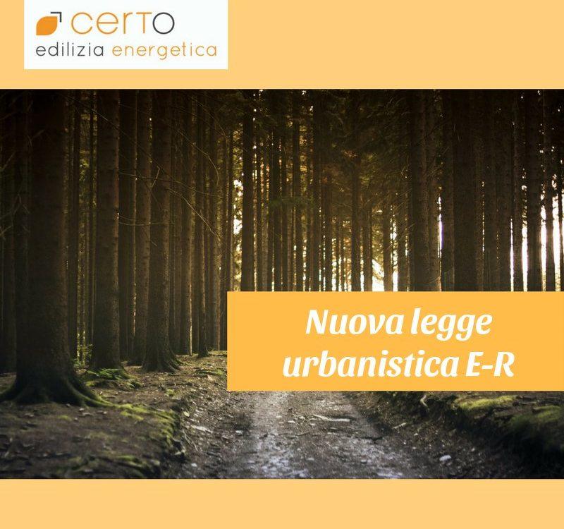 nuova legge urbanistica Emilia Romagna