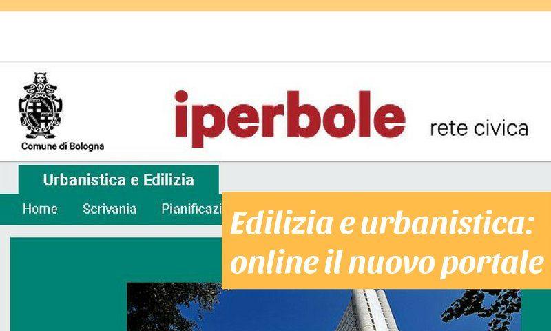 nuovo portale edilizia e urbanistica