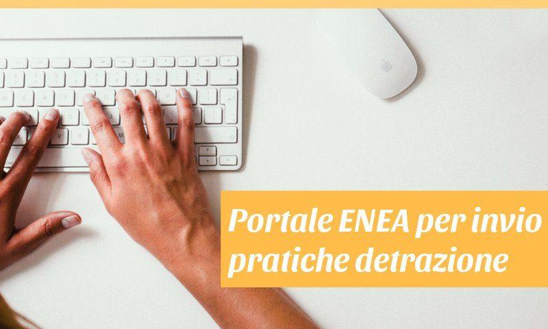 sito ENEA invio pratiche detrazione