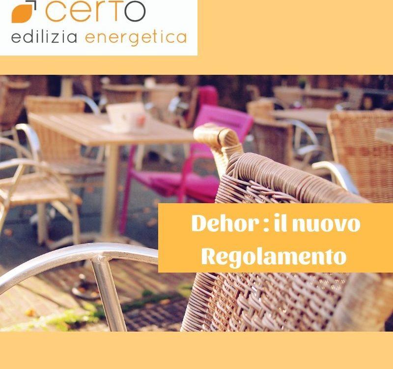 il nuovo regolamento per i dehor, gli spazi esterni dei locali, a Bologna