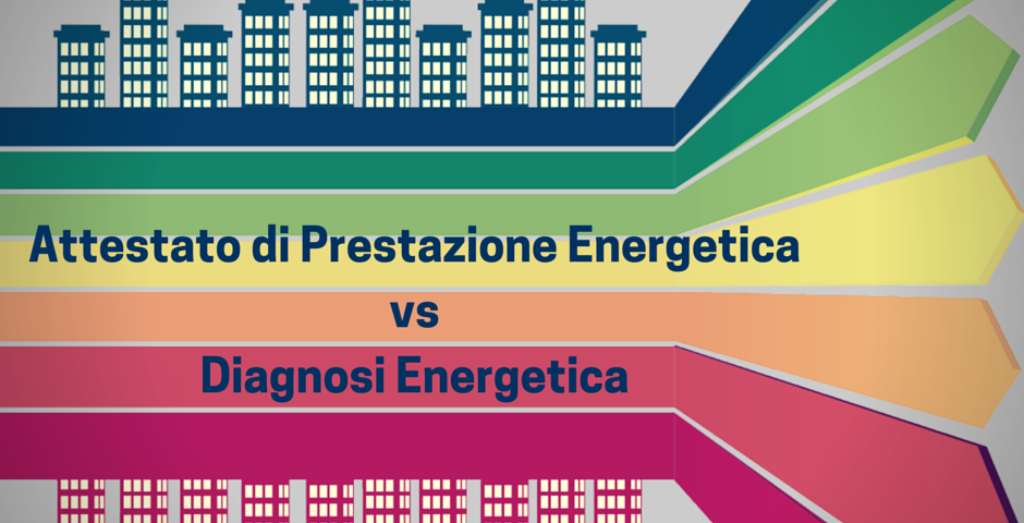 ape vs diagnosi energetica