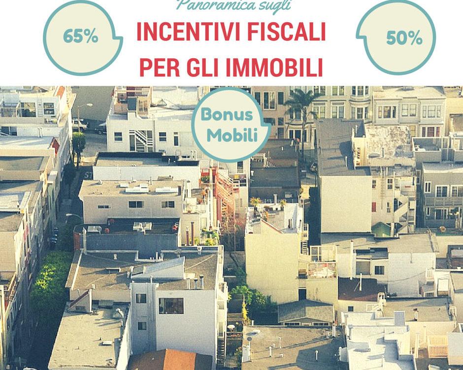 incentivi fiscali per immobili