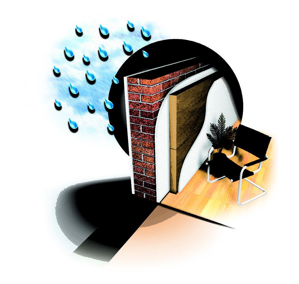 Isolamento delle pareti dall interno certo edilizia - Isolamento interno ...