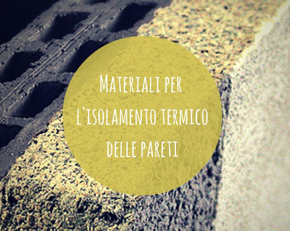 materiali termici