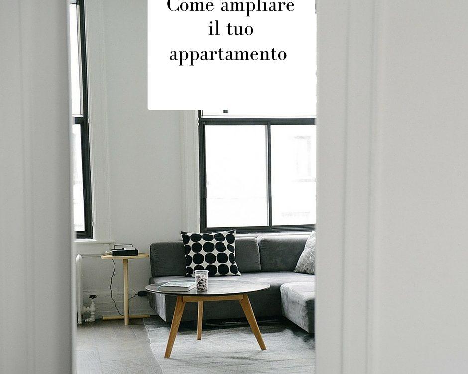 ampliare un appartamento