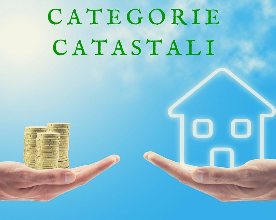 le categorie catastali
