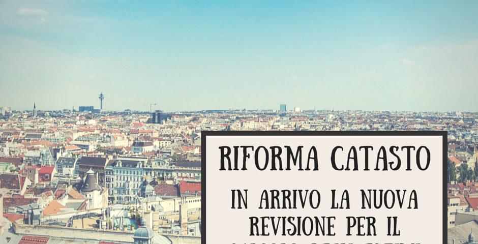 riforma catastale